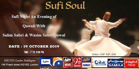 Qawalli Night - Salim Sabri & Wasim Sabri Qawaals tickets