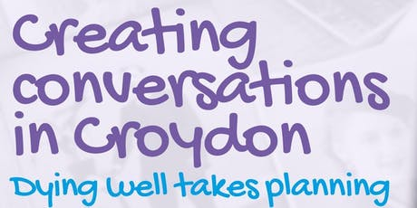 Creating Conversations Cafe tickets