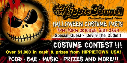 Hippie Halloween Pre-Game Costume Party