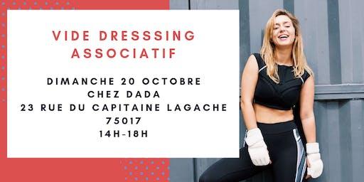 VIDE DRESSING ASSOCIATIF
