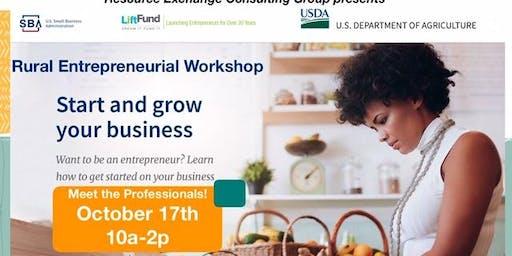 Rural Entrepreneurial Workshop & Networking Event