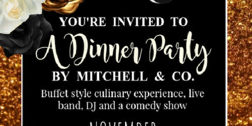 A Dinner Party by Mitchell & Co.