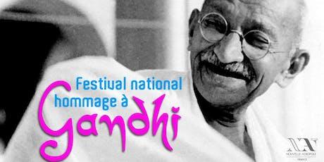 Hommage à Gandhi billets