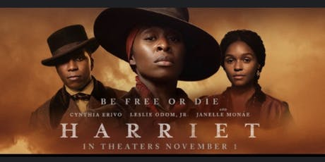 The St James AME Zion Church and the San Francisco-Peninsula Almunae Chapter of Delta Sigma Theta Sorority,  Inc. Present a private screening of Harriet tickets