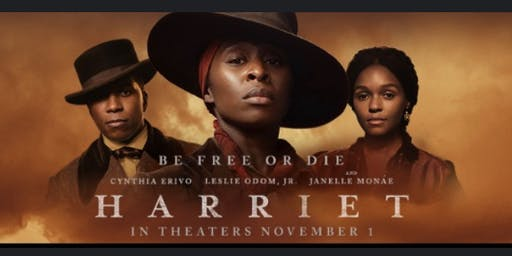 The St James AME Zion Church and the San Francisco-Peninsula Almunae Chapter of Delta Sigma Theta Sorority,  Inc. Present a private screening of Harriet