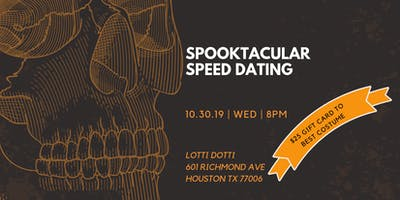 Spooktacular Halloween Speed Dating