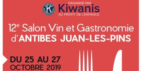 12ème Salon du Vin et de la Gastronomie d'Antibes billets