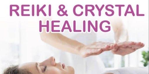 REIKI AND CRYSTAL HEALING WORKSHOP