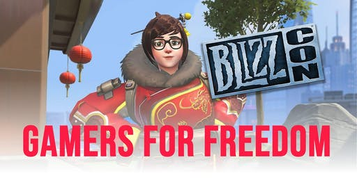 Gamers for Freedom at Blizzcon