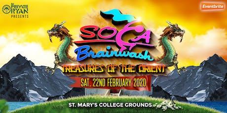 Soca Brainwash Trinidad 2020 - Treasures of the Or tickets