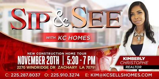 Sip & See New Construction Home Tour