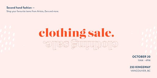 Women's Clothing Sale: EVERYTHING MUST GO Second-Hand Fashion