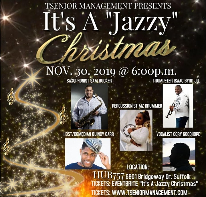 It's A Jazzy Christmas! image