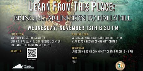 Learn from This Place: Bringing Arlington to Halls Hill tickets