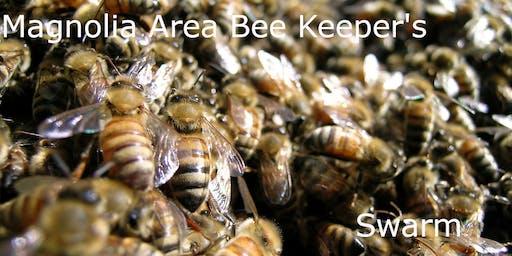 Magnolia Area Bee Keepers Swarm - November
