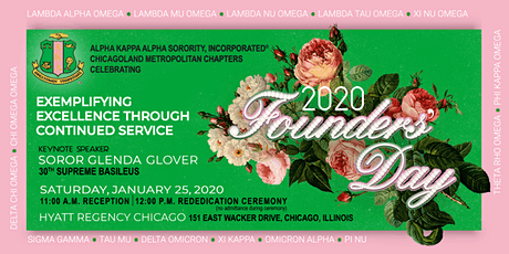 2020 Chicagoland Metropolitan Founders' Day Celebration tickets