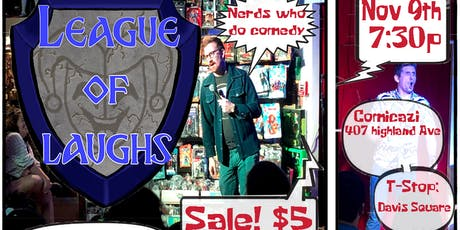League Of Laughs Nerd Comedy Show tickets