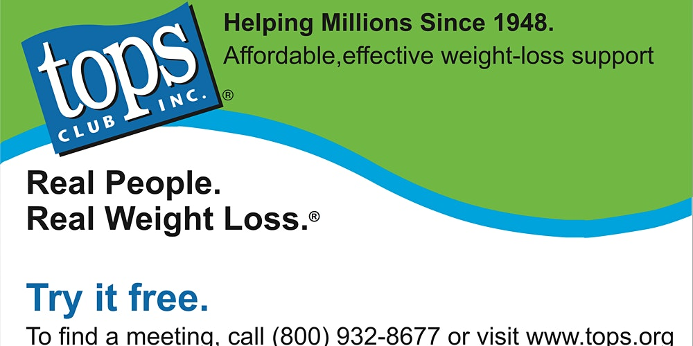 Tigard Tops Weight Loss Support Group Tickets Multiple Dates Eventbrite