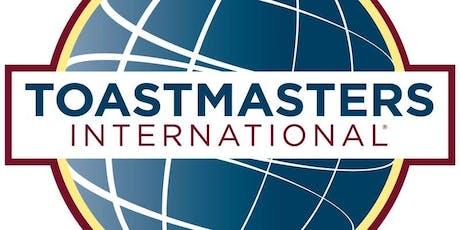 Titan Toastmasters 10/23 Meeting tickets