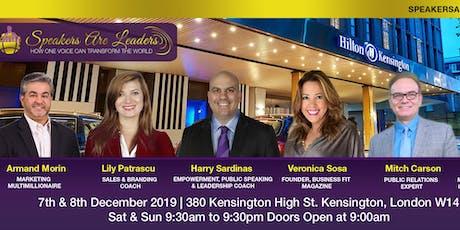 Speakers are Leaders Workshop in London by Harry Sardinas tickets