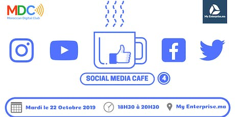 Social Media Cafe #4 billets