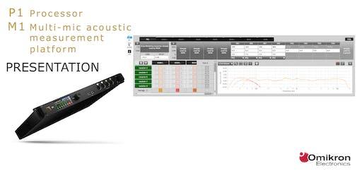 L-Acoustics P1, M1  Presentation