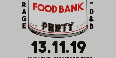 Society:  Food Bank Party tickets