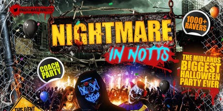 Nightmare In Notts tickets