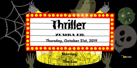 Pop Up Halloween Dance Party: Thriller -Zumba Ed. tickets