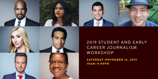2019 Student and Early Career Journalism Workshop