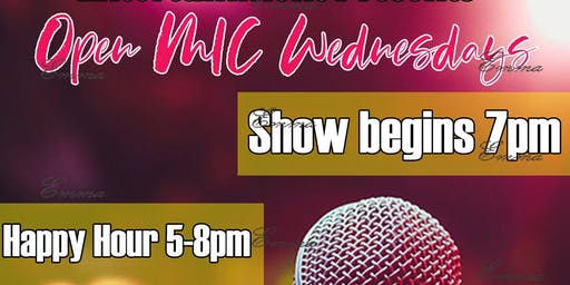 OPEN MIC NIGHT  With Soul Food Happy Hour