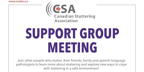 Toronto Stuttering Support Group tickets