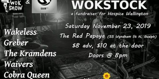 WOKSTOCK: A Fundraiser for Hospice Wellington!