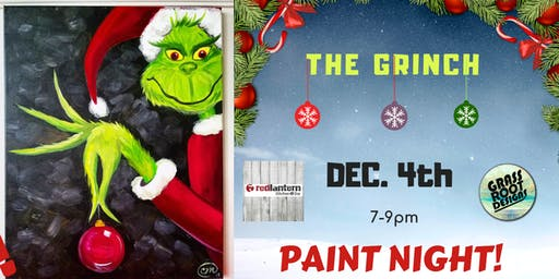 The Grinch | Paint Night!