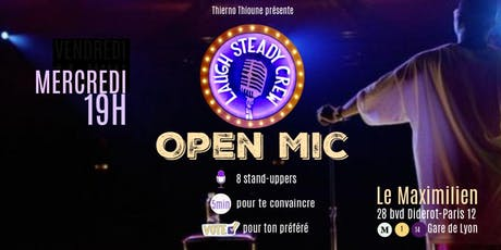 LAUGH STEADY CREW OPEN MIC billets