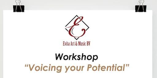 """""""Voicing Your Potential"""" >  Aan de slag met je stem"""