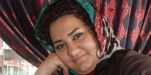 Protest for Atena Daemi