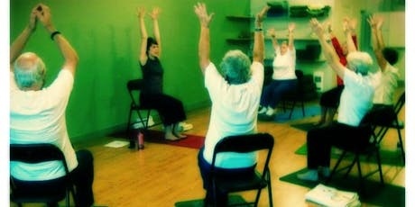 Gentle Chair Yoga (for the Less Able-Bodied) - Relaxation, Fitness, Health tickets