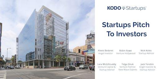 Startups Pitch To Investors