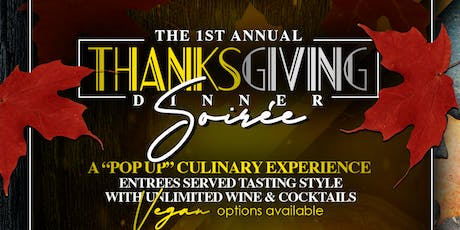 Thanksgiving Dinner Soirée  tickets