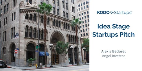 Idea Stage Startups Pitch tickets