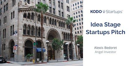 Idea Stage Startups Pitch tickets