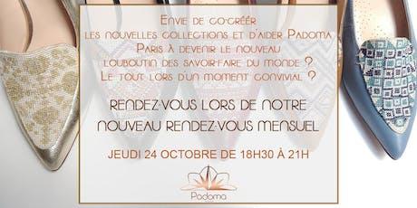 Rencontre mensuelle Padoma Paris #1 billets