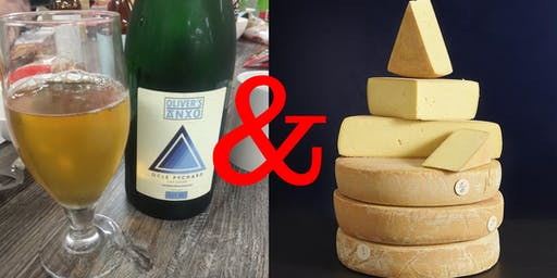 Cider vs Cheese at Palmer Street Bottle