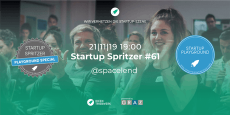 Startup Spritzer #61: Startup Playground Special Tickets