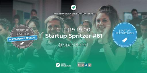 Startup Spritzer #61: Startup Playground Special