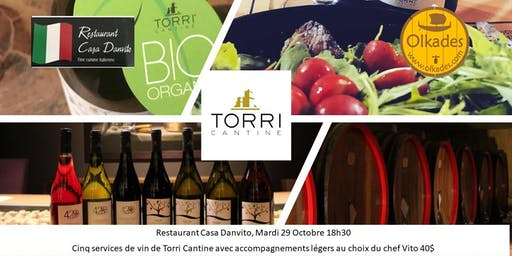 Dégustation des vins de Torri Cantine chez Danvito