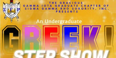 UNDERGRADUATE GREEK STEP SHOW COMPETITION- REGISTRATION