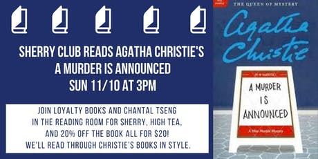 Sherry and Christie Book Club Discusses A Murder is Announced tickets