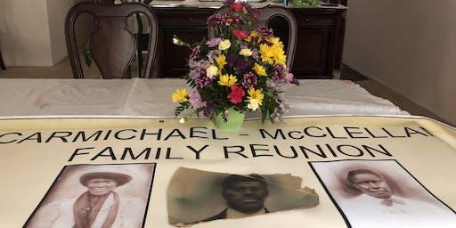 Carmichael-McClellan Family Reunion - NJ 2020